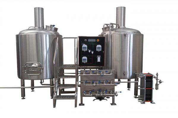 Quality European Standard Large Professional Beer Brewing Equipment With Siemens Motor for sale