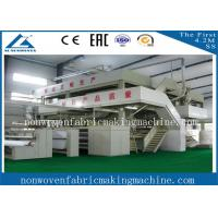 Buy cheap High quality 1.6m S pp spun bonded nonwoven fabric production line / Single S Nonwoven fabric making machine from wholesalers
