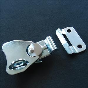 China Small Twist latch with keeper plate.Padlockable. Zinc finish.Rohs on sale