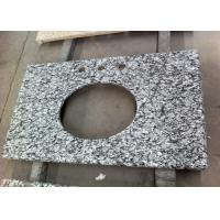 Water Wave Granite Vanity Tops Eased Edges With 2 Cm Thickness , SGS CE Listed