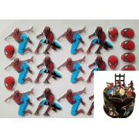 China Handsome Spiderman Patterns Chocolate Transfer Sheets , Fondant Transfer Sheets wholesale