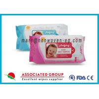 Baby Wet Tissue Wipes / Individual Flushable Moist Wipes for Travel