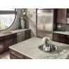 China Supreme Granite Slab Countertop Own Quarry Stone White Granite Tile Countertop wholesale