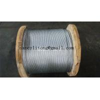 7/1.6mm,7/2.0mm,7/3.0mm,7/3.25mm,7/4.0mm Galvanized Steel Wire Strand for Stay Wire as per
