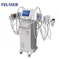 China Fat Freezing Cellulite Removal Equipment , Lipo Laser Cavitation Vacuum Machine wholesale