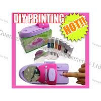 China Light Weight Colored Nail Art Printer With CE Certification, On / Off Switch wholesale