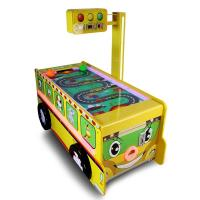 China Bus Shape Big Sports Game Machine Air Hockey Table Credit Card Support wholesale