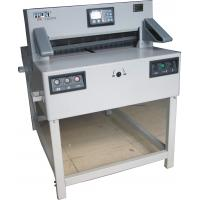 China Electric Programmable Paper Cutting Machine 1200W With Two Motors 7205PX wholesale