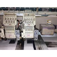 China Programmable Table Top Swf Embroidery Machine With Japan Panasonic Motor wholesale