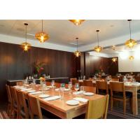 China Wooden Commercial Restaurant Furniture Solid Rubber Wooden Material wholesale