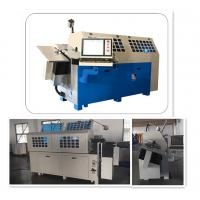 China Material 1 - 4 Mm Wire Forming Machine And Bender With CNC Control System wholesale