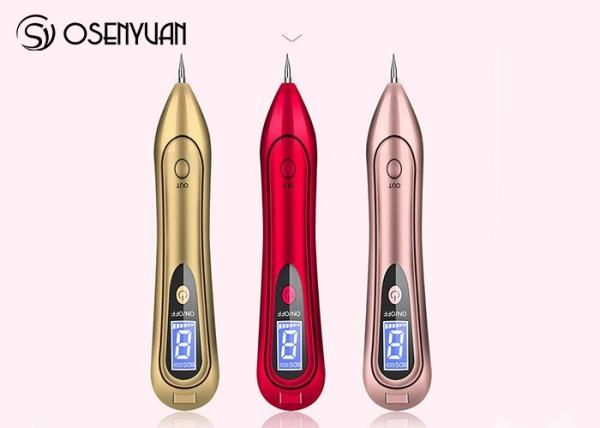 Quality Laser Spot Tattoo Freckle Removal Pen Portable LCD Skin Care Tool Kits for sale