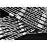 China 316 Stainless Steel Wire Rope Mesh / Diamond Shape Ferrule Rope Mesh wholesale