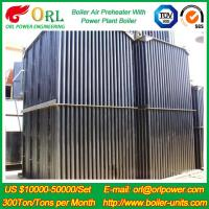 Buy cheap 130 MW CFB/Preheater de ar quente da indústria do gás do petróleo caldeira de água para a caldeira from wholesalers