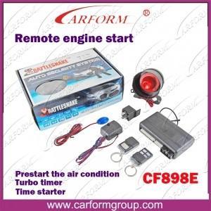 China Remote Engine Start Auto Alarms Systems 898E Engine Start Relay Externa Car Alarm wholesale