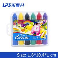China Multicolor Art Water Soluble Crayons With Rotational Structure Rainbow Crayons wholesale