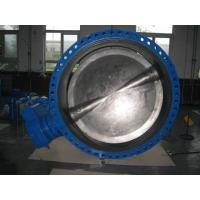 China High Performance Stainless Steel Butterfly Valve , Electric Automated Butterfly Valve wholesale
