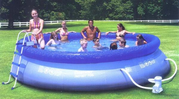 Big Inflatable Pool Slide
