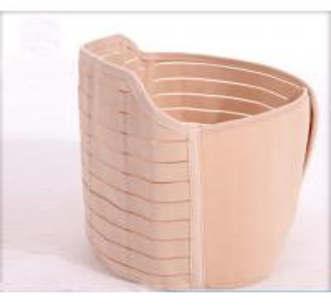 China Beige Maternity Postpartum Support Belt Neoprene Composite Cloth Material wholesale