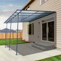 China 300x300cm  Best Selling Sturdy aluminium frame hollow polycarbonate balcony patio cover ,Water Proof,Ice Proof wholesale