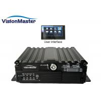 China Durable Automotive Dvr Recorder HD Car 720p 4CH 4G Embedded Linux CE Approval on sale