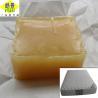China Bloque adhesivo del derretimiento caliente del OEM para el colchón de la espuma/la materia prima no tejida de los productos wholesale
