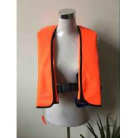 China 300D Oxford with PU coating Inflatable life jacket wholesale