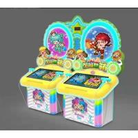 China Kids Coin Operated Arcade Games Machines 4 Players Hammer Hitting Game on sale