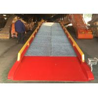 Buy cheap Loading And Unloading Mobile Yard Ramp / Container Dock Ramp from wholesalers