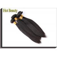 China Milky Straight Brazilian Hair Bundles Natrual Black 10 Inch To 30 Inch Soft Touch on sale