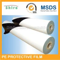 China White Scratch Protection Film For Doors , Recycable Protective Adhesive Film Tape on sale