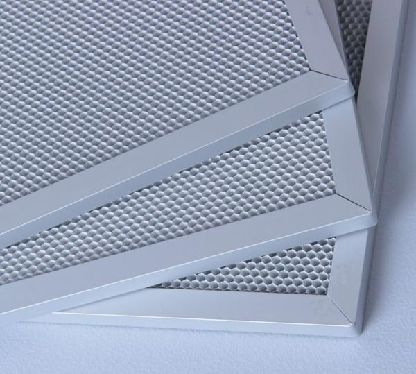 Quality UV Air Purifier Replacement Filters Aluminum Frame Honeycomb Photocatalyst for sale