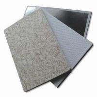 China Gypsum Ceiling Tiles with Imported Latex Painting, Easy-to-clean on sale