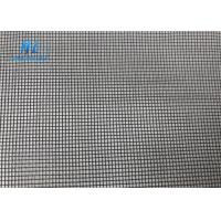 Quality 48ft*100ft PVC Coated 105g Fiberglass Mosquito Mesh Black Color 18*16 for sale
