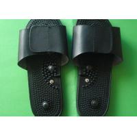 China Unisex Home Using Foot Massage Shoes / Black Massage Slipper For Health Care, 250mm×80mm Foot Massage Slippers wholesale