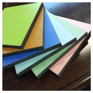 China White color hpl high pressure laminate sheet board wholesale