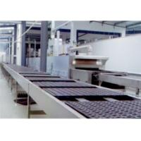 China Chocolate Cake Production Machine , Custrad Pie Cup Cake Manufacturing Equipment wholesale