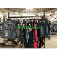 China Africa Second Hand Denim Jacket , American Style Used Winter Jackets wholesale