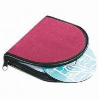 China Promotional PU Auto Visor CD Case, Used in Cars wholesale