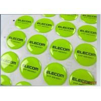 Concave Bottles Epoxy Dome Stickers , CMYK Screen Printing Labels