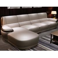 China Hotel / Apartment Modern Luxury Furniture Contemporary Leather Sofa wholesale