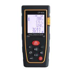China Effective Digital Laser Distance Measurer With Water Level , 0.05-100m Range wholesale