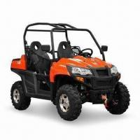 China 800cc Utility Vehicle UTV with Twin V-type Cylinders and 8-valve, Measures 2,650 x 1,330 x 1,860mm wholesale