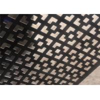 China Customized Decorative Perforated Sheet Metal Panels For Walls And Partitions wholesale