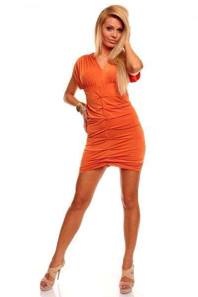 Quality Wholesale Hot Sale Kleid Last Girl Orange Sexy Clubwear LR5201-1 for sale