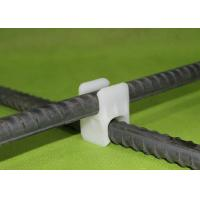 China Plastic Rebar Supports Spacer Chair PE Rebar Clips For Construction wholesale