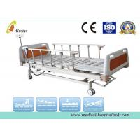 China 5 Funtion Aluminum Alloy Guardrail Hospital Electric Bed With Central Brakes (ALS-E503) wholesale