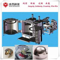 China Two Doors Glass Coating Machine , Chrome Plating Machine For Plastic / Helmet on sale