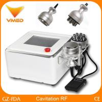 China Portable Radio Frequency Cavitation Machine For Leg / Belly / Body Fat Removal wholesale