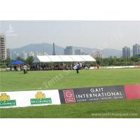 China Grassland Football Match Regatta Sport Event Tents White PVC Textile and Aluminum Alloy wholesale